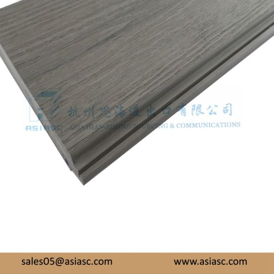 Dry All The Time Grey PVC Decking for Multi-Purpose Usage pictures & photos