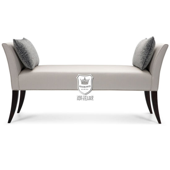 Australia Hotel Leather Bench with Cushions in Bedroom or Lounge pictures & photos
