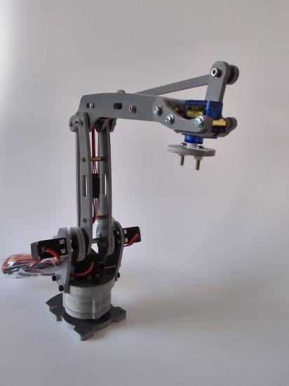 4 Axis Stacker Servos Arduino Controlled Palletizing Model Robot Arm