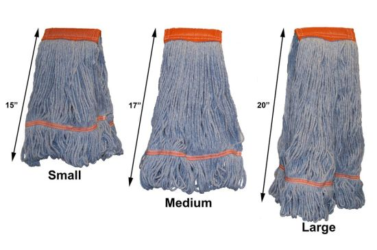 Premium Cotton Looped End Wet Mop Head Refill pictures & photos