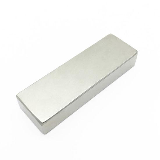 N52 Nickel Coated Rectangular Sintered NdFeB Neodymium Block Magnets