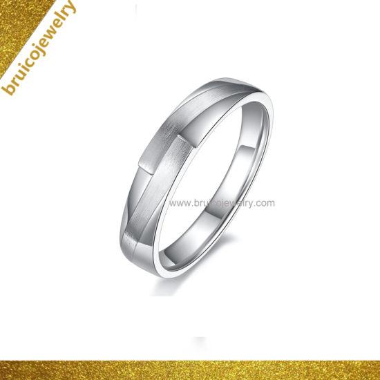 d29f1ed7b6ff0 Hip Hop Jewellery Custom Wholesale 925 Silver Ring Fashion Jewelry No  Diamond 18K Gold Wedding Ring for Man
