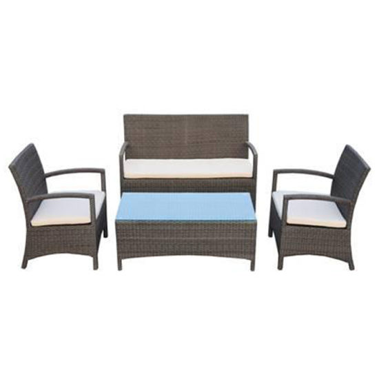 Outdoor Patio Garden Furniture Leisure Rattan Arm Chair Sofa Set pictures & photos