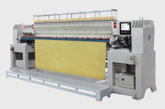 Computer Double Row Quilting Embroidery Machine
