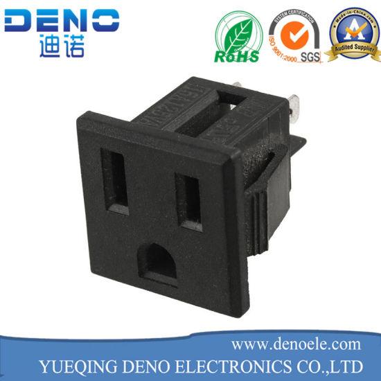 3pin Plug 3 Terminals Socket Power Adapter