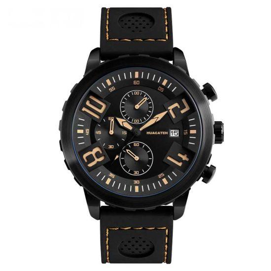 Men 3ATM Waterproof Quartz Movement Sport Wrist Watch