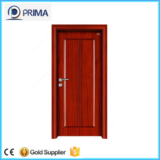 China Cheap Wooden Internal Door 6 Panel Interior Doors With Frame