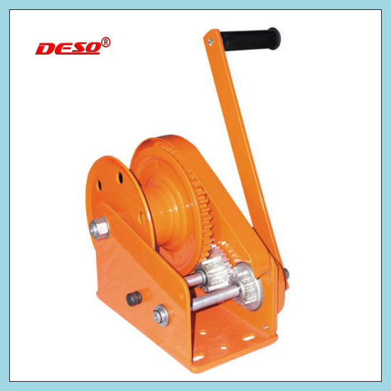 Windlass Steel Cable Lifting Hand Winch pictures & photos