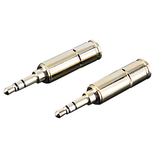 Gold Plated 3.5mm Stereo Audio Phone Plugs pictures & photos