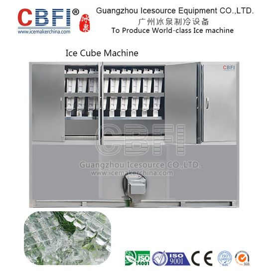 New Style Using Touch Screen Commercial Cube Ice Machine pictures & photos