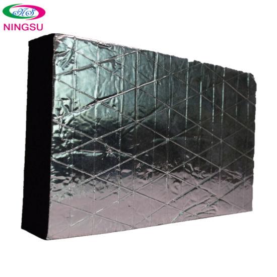 2020 High Quality Square Aluminum Foil Sound Insulation Sponge