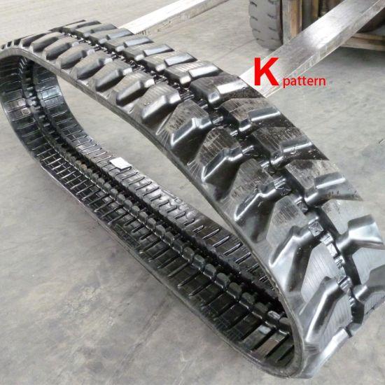 Excavator Rubber Track (300X52.5X76) for Yanmar, Kubota, Caterpillar Construction Machinery