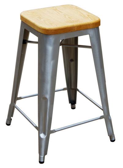 Astonishing Industrial Tolix Marais Metal Restaurant Dining Counter Bar Stools Squirreltailoven Fun Painted Chair Ideas Images Squirreltailovenorg