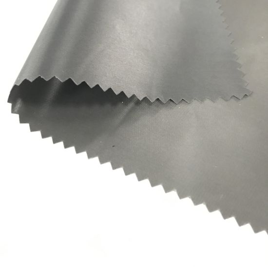 Breathable Eco-Friendly Wet Coating Suede Fabric for Fashion Garment