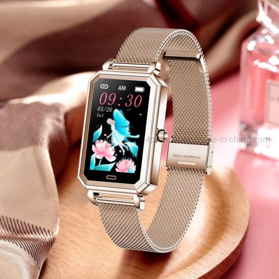 Heart Rate Monitoring Female Smart Bracelet with IP68 Waterproof HT2