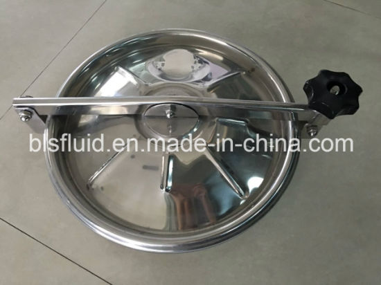Stainless Steel Circular Type Tank Manhole Cover pictures & photos