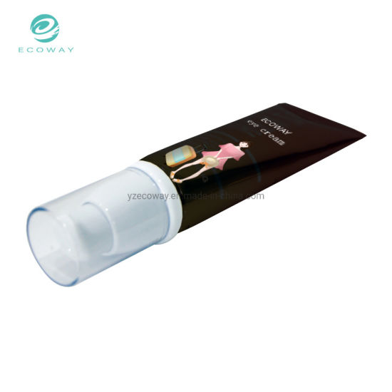 Wholesale Makeup Packaging Container OEM Offset Printing Airless Pump Cosmetic Tube