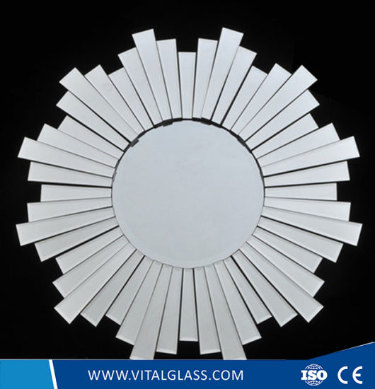 Franeless Decorative Double Coated Silver Mirror/Spell Mirror/Safety Vinyl Mirror pictures & photos