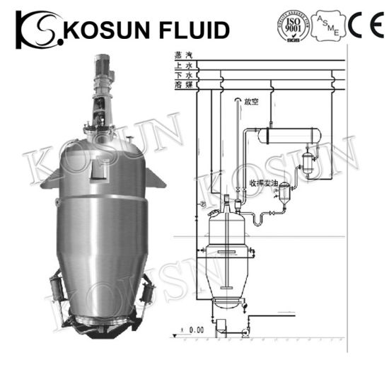 Stainless Steel Herbal Essential Oil Solvent Laboratory Vacuum Extractor pictures & photos
