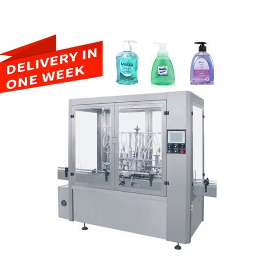 Viscosity Liquid / Kechup / Sauce Bottle Filling Machine Avf Series 20-500ml