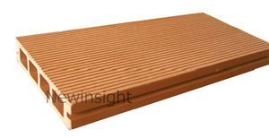 146*31mm Wood Plastic Composite Decking with CE, Fsg SGS, Certificate