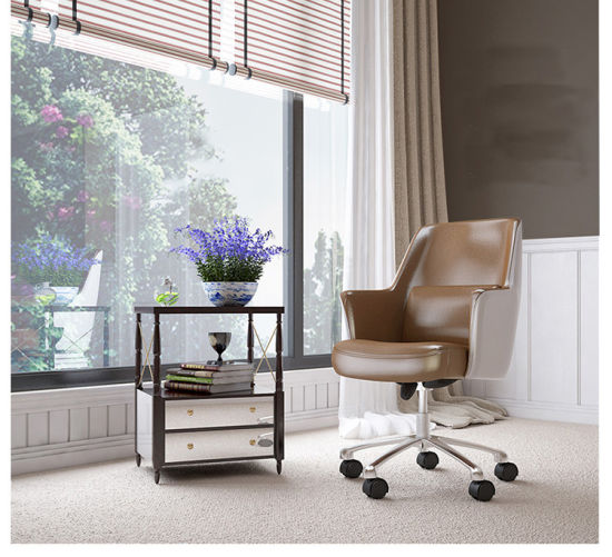 Soft Executive Chair with Leather Cover for Office pictures & photos