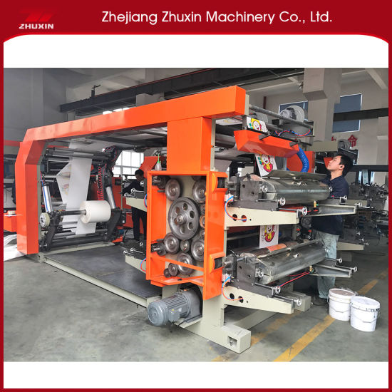 Flexographic Printing Machine From China Factory Easy to Operate