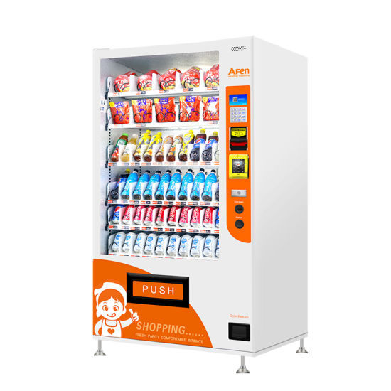 Afen European Style Combo Snack and Coffee Vending Machine