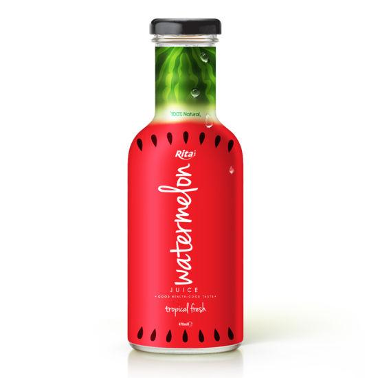 China 470ml Glass Bottle Watermelon Juice-Vietnam