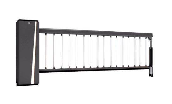 Best Selling Parking Lot Barrier with Fence Boom for Your Preferred Color Choice