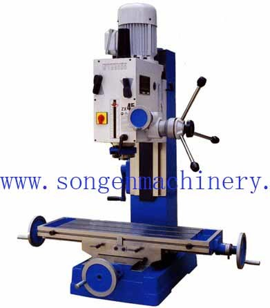 Max Drilling Dia 45mm Drilling and Milling Machine pictures & photos