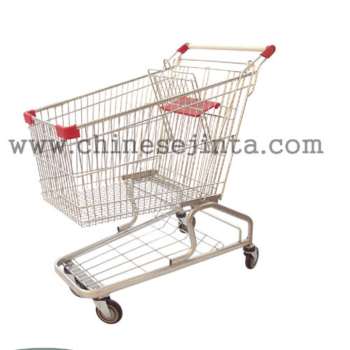 Supermarket Hypermarket Germany Shopping Cart with Ce Certification