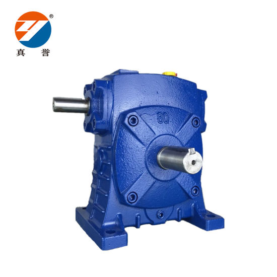 Chinese Suppliers Wps 1: 50 Ratio Worm Gear Speed Reducer Price