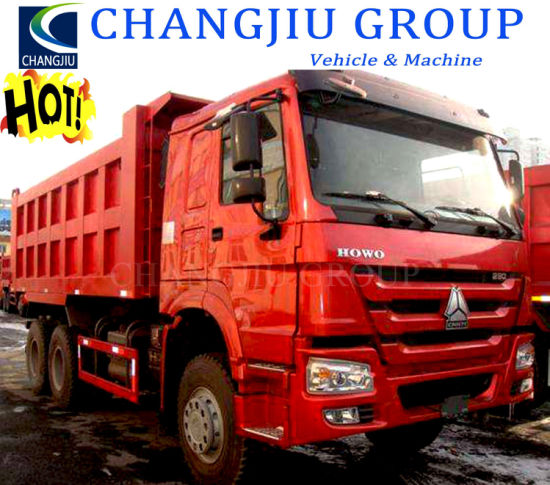 Low Price Excellent Condition 375HP 41t-50t 10 Wheels 6X4 Sinotruck HOWO Used Tipping Truck for Sale