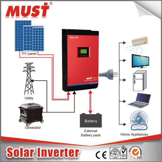 2kVA-5kVA Hybrid Solar Inverter Inbuilt MPPT with RS485 pictures & photos