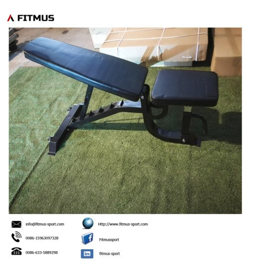 Adjustable Bench Weight Bench Bench Press Workout Bench Adjustable Weight Bench Gym Bench Bench Press for Sale Olympic Weight Bench Sit up Bench Decline Bench pictures & photos