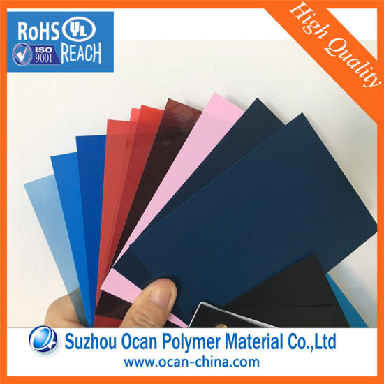 China A4 Size Plastic Sheet Transparent Colored Rigid PVC Sheet for ...