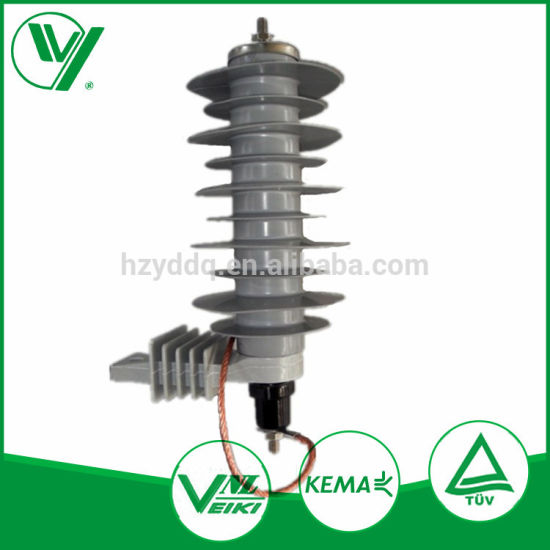 Polymeric Zinc Oxide Surge Arrester 24kv 5ka for Electrical Substation pictures & photos