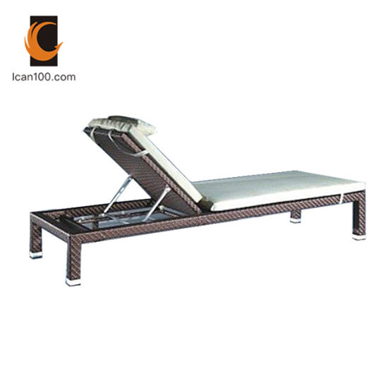 Pleasing Eco Friendly Material Folding Chaise Lounge Furniture Rattan Sun Bed Beach Chair Cl 1004 Gmtry Best Dining Table And Chair Ideas Images Gmtryco