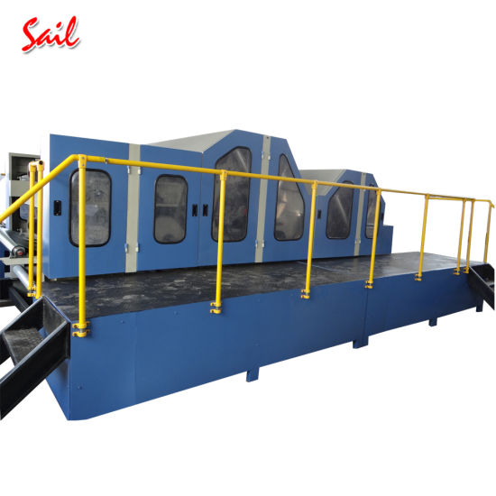 High Capacity Nonwoven Staple Fiber Carding Machine for Making Nonwovens pictures & photos