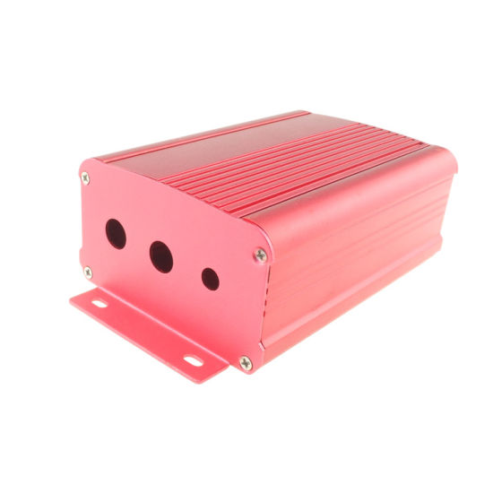 Customized Aluminum Amplifier/ Power Charger Enclosures Extruded