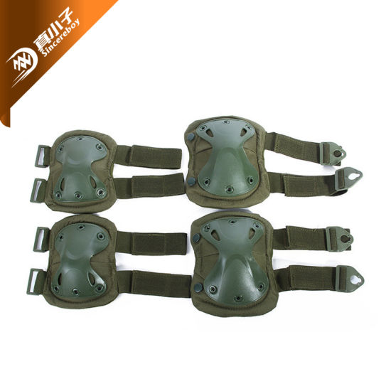 New Airsoft Tactical Outdoor Knee and Elbow Pads Sets 7 Colors