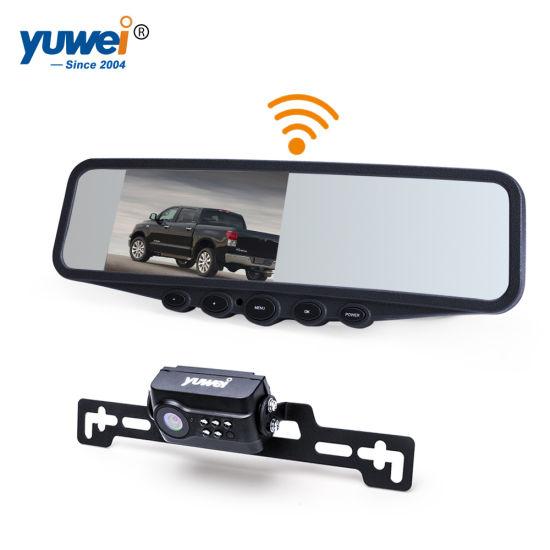 US HD Waterproof Car Rear View Reverse Backup Camera License Plate Parking W