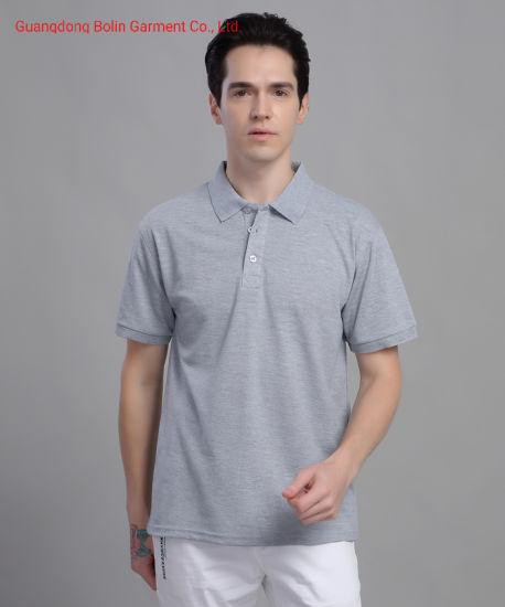 Men Short-Sleeved Polo Shirt