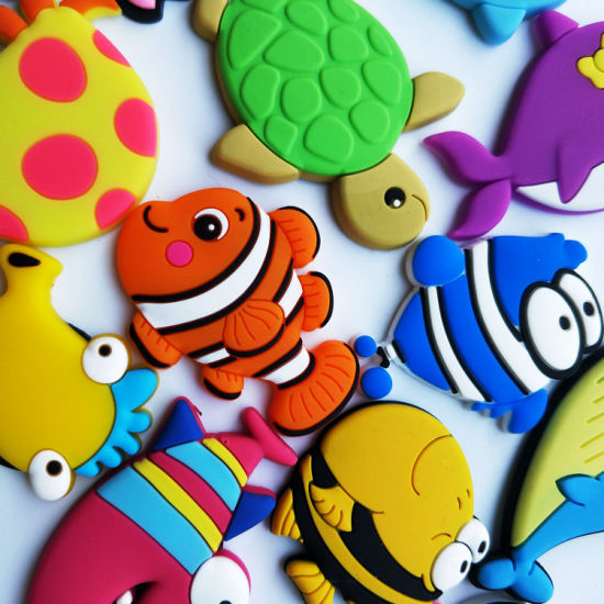 Hot Sale Marine Animals PVC Fridge Magnet for Promotion pictures & photos