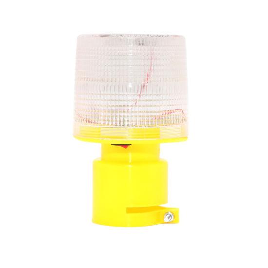 Solar Road Safety Warning Lamp Strobe Lamp Emergency Lamp