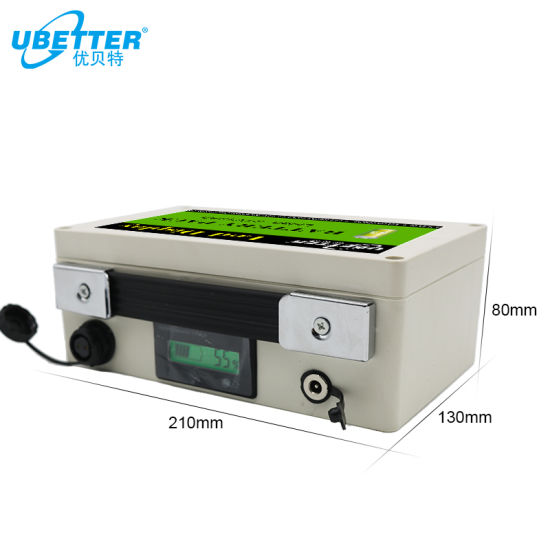 Lithium Battery Pack 24V 20ah with LED Display for Solar