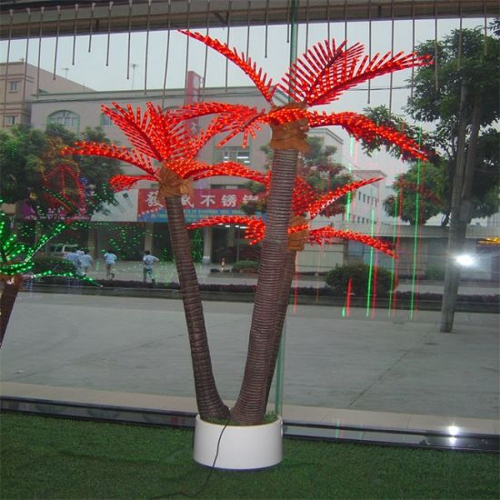 Charming Outdoor Led Coconut Tree Light, Outdoor Led Palm Tree