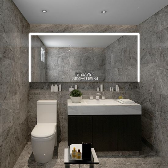 High Quality Wall Lighted LED Bathroom Mirror for Shaving Makeup