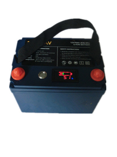 12V 70ah Rechargeable Battery Pack for Fishing Marine Boat